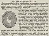 Stamped Postage Paper