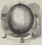 Immense Copper Balloon, at Paris