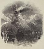 Eruption of Mount Hecla