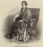 "Mademoiselle Rachel as ""Valeria"""