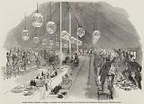 Grand Masonic Banquet, at Rugby, to General Sir Charles Napier, GCB, drinking the General's Health