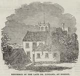 Residence of the Late Dr Lingard, at Hornby