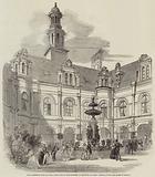 Great Exhibition Fetes at Paris, Court-Yard of Louis Quatorze, at the Hotel de Ville …