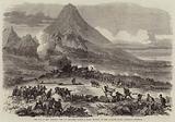The War in New Zealand, the 57th Regiment taking a Maori Redoubt on the Katikara River, Taranaki