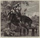 Jane Lane assisting Charles II to escape after the Battle of Worcester