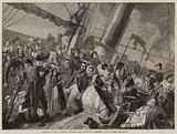 Scene on Board a French Steamer from Havre to Honfleur