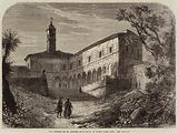 The Convent of St Onofrio, near Rome, in which Tasso died