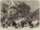 Fete given by the Prince Imperial to Poor Children of Paris in the Tuileries Gardens