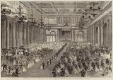 The Marriage at St Petersburg, State Ball in the St George's Hall of the Winter Palace