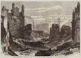 London Improvements, Demolitions in the Poultry for the New Street leading from the Thames Embankment