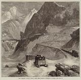 New Overland Route to India, Mont Cenis Railway, l'Echelle du Diable