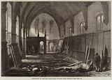 Demolition of the Old Dining-Hall of the Inner Temple