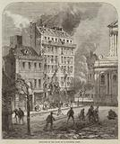 Explosion in the Place de la Sorbonne, Paris