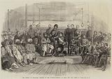 The Durbar at Umballah, Meeting of the Governor-General of India and the Ameer of Cabul