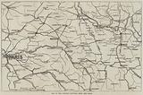 Map of the Country between Metz and Paris