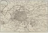 The War, Plan of Paris and the Fortifications