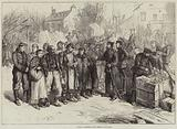 French Prisoners from Metz at Remilly