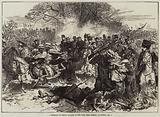 A Stampede of French Cavalry at the Fight near Orleans, on Sunday, 4 December