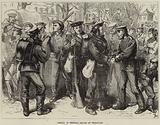 Arrival of Prussian Sailors at Versailles