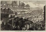 The Red Republican Insurgents attacking the Hotel de Ville, Paris