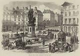 The Civil War in Paris, Barricade in the Place Clichy