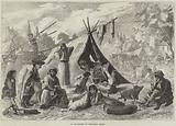An Encampment of Hungarian Gipsies