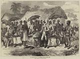 The Ashantee War, a Conference with a Native King