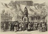 Unveiling the Statue of John Bunyan, at Bedford