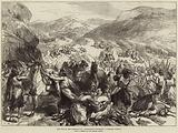 The War in the Herzegovina, Insurgents surprising a Turkish Convoy