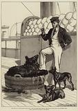 The Prince's Voyage Home from India, Life on Board the Serapis, Himalayan Black Bear and Tailless Dogs