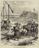 The War, watering Horses under Difficulties