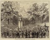 Unveiling the Statue of Sir James Simpson at Edinburgh