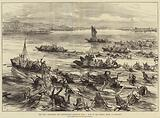 The War, Circassians and Bashi-Bazouks returning from a Raid on the Enemy's Shore at Nicopolis