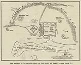 The Afghan War, Sketch Plan of the Fort at Dakka