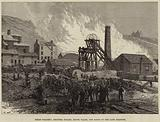 Dinas Colliery, Rhondda Valley, South Wales, the Scene of the Late Disaster