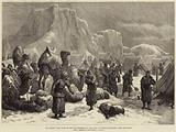 The Afghan War, Camp of the 3rd Goorkhas in the Snow at Sultan Mohammed