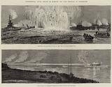 Experimental Naval Attack on Harbour and Fort Defences at Portsmouth