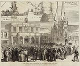 The Basuto War, Departure of Volunteers from Cape Town