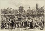 The Centenary Festival of Sunday Schools, Great Gathering of Sunday School Children at Lambeth Palace