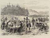 The Prince of Wales in the Highlands, Luncheon in the Forest
