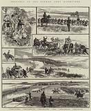 Sketches of the German Army Manoeuvres