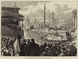 Laying the Foundation-Stone of the New Municipal Buildings, Glasgow