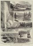 Sketches at the Yellowstone Park of North America
