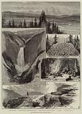 The Yellowstone Park, North America