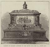 Casket of Paisley Address to the Right Honourable Sir RA Cross, MP
