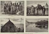 """Illustrations of """"The Wild Tribes of the Soudan,"""" by Mr F L James, FRGS"""