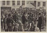 Departure of Irish Emigrants at Clifden, County Galway