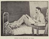 Robert Louis Stevenson at Work