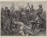 Battles of the British Army, Poitiers, the Last Stand of King John of France