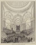 Interior of St Paul's Cathedral, 2 June 1842